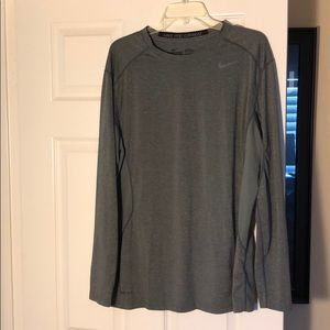 Nike Pro Combat Dri-fit Long Sleeve Athletic Shirt